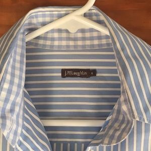 Crisp and clean J. McLaughlin shirt